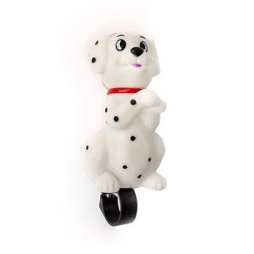 Garsinis signalas baltas šuo
