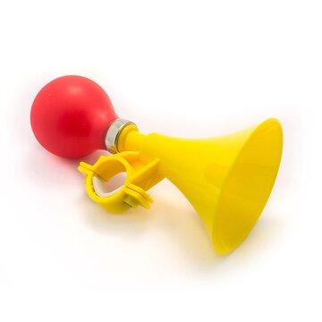 Garsinis signalas - trimitas (geltona/raudona)