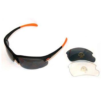 Akiniai KTM FL poliarizuoti UV 400 (juoda/oranžinė)