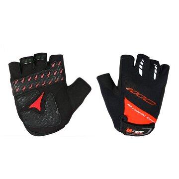 Pirštinės BONIN B-Race Bump Gel (juoda/raudona) XL