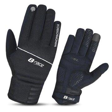 Pirštinės BONIN B-Race Windproof (juodos) XL