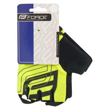Pirštinės FORCE Sport (fluorescentinė) XS