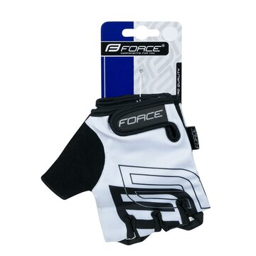 Pirštinės FORCE Sport (balta) XS