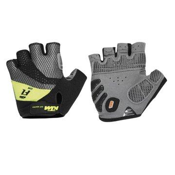 Pirštinės KTM FL trumpos (juoda/laimo) S
