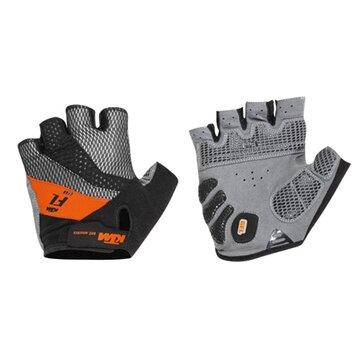 Перчатки KTM FL короткие (черный/оранжевый) размер M