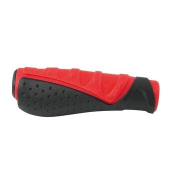 Vairo rankenos FORCE (guminės, juoda/raudona)