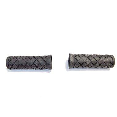 Vairo rankenos guminės, trumpos 90mm (juoda)