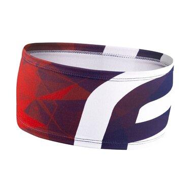 Galvos juosta FORCE FIT sport (mėlyna/raudona) UNI