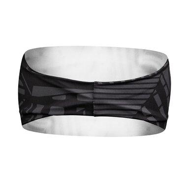 Galvos juosta FORCE Shard sport (juoda/pilka) UNI