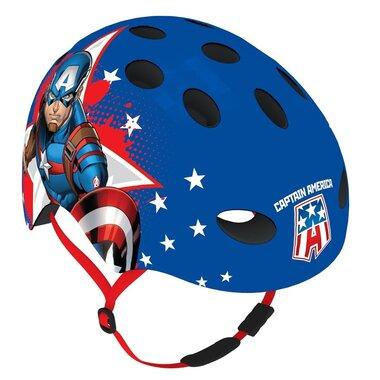 Šalmas DISNEY Bmx/Skate Captain America S/M 54-58cm (mėlynas)