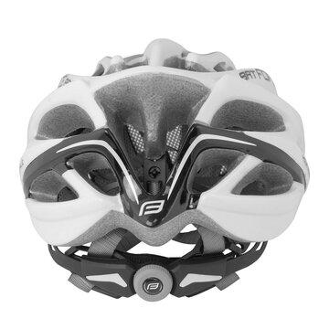 Šalmas FORCE Bat 54-58cm S-M (balta/juoda)