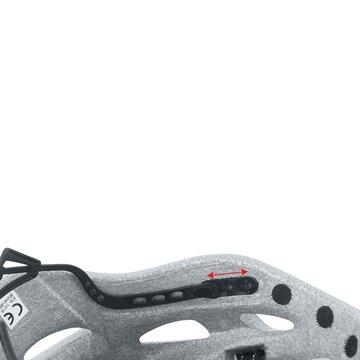 Šalmas FORCE Road Junior 48-53cm (XS-S) (juoda/fluorescentinė)