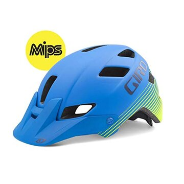 Šalmas GIRO Feature Mips 51-55cm (mėlynas)