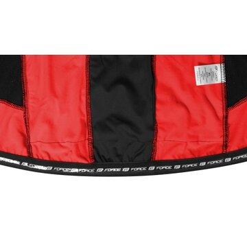 Bliuzonas FORCE X68 PRO (juoda/raudona) M