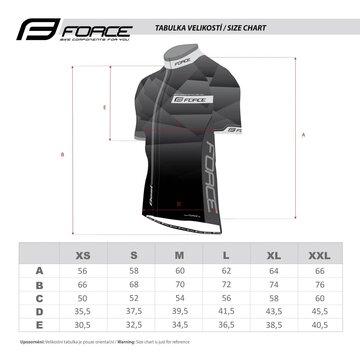 Marškinėliai FORCE Best (juoda/fluorescencinė) XXXL