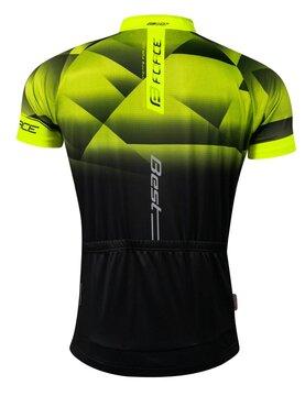 Marškinėliai FORCE Best (fluorescencinė/juoda) XL
