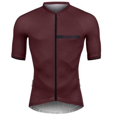 Marškinėliai FORCE CHARM (bordo) XL