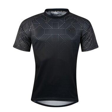 Marškinėliai FORCE City, (juodi/pilki) L