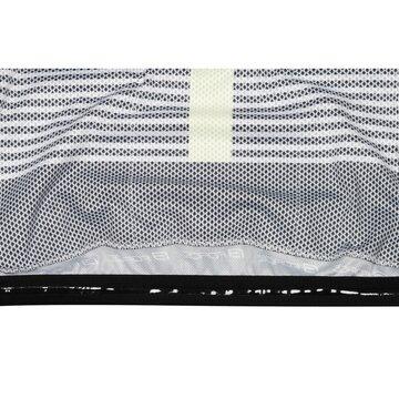 Marškinėliai FORCE Drive (juoda/balta/fluorescentinė) XL