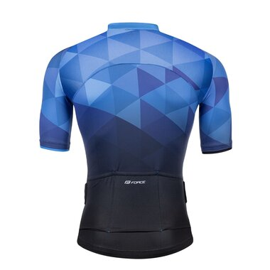 Marškinėliai FORCE GEM (mėlyni) L