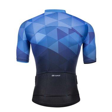 Marškinėliai FORCE GEM (mėlyni) XL