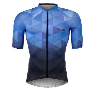 Marškinėliai FORCE GEM (mėlyni) XXL