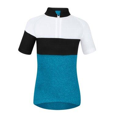 Marškinėliai vaikiški Force KID View, 128-140cm (mėlyna/balta/juoda)