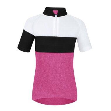 Marškinėliai vaikiški Force KID View, 128-140cm (rožinė/balta/juoda)