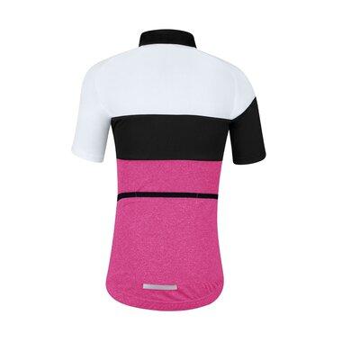 Marškinėliai vaikiški Force KID View, 140-153cm (rožinė/balta/juoda)