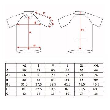 Marškinėliai FORCE LUX (juoda/fluorescentinė) L