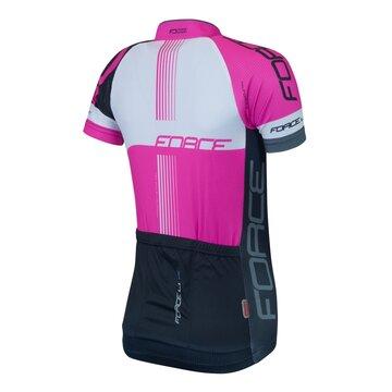 Marškinėliai FORCE LUX (juoda/rožinė) S