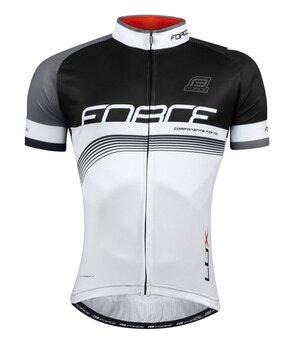 Marškinėliai FORCE LUX (juoda/balta) S