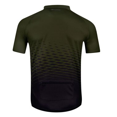 Marškinėliai FORCE MTB ANGLE (chaki) 3XL