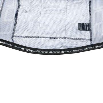 Marškinėliai FORCE Rose (juoda/mėlyna) XS