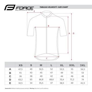 Marškinėliai FORCE Shine (juoda) M