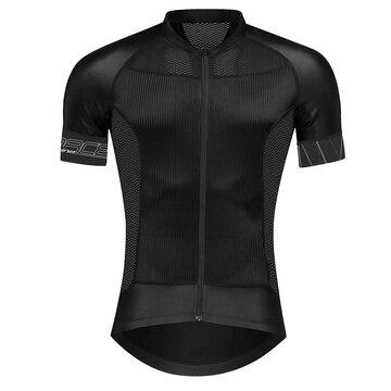 Marškinėliai FORCE Shine (juoda) XL