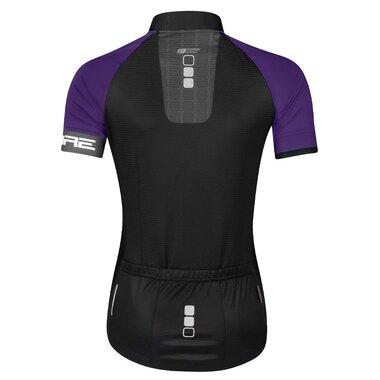 Marškinėliai FORCE Square, (juoda/violetinė) M