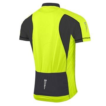 Marškinėliai FORCE T10 (fluorescencinė/juoda) L