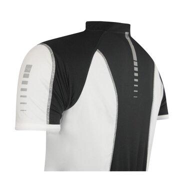 Marškinėliai FORCE T12 (juoda/balta) XXL