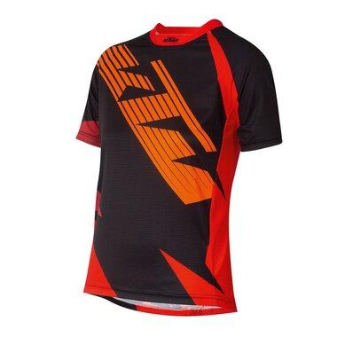 Marškinėliai vaikiški KTM Factory Enduro Youth, 152cm (juoda/raudona)