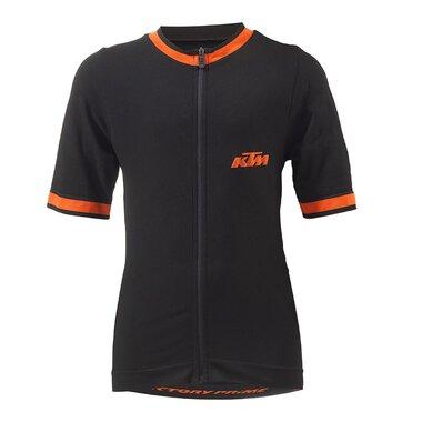 Marškinėliai KTM Prime (juoda/oranžinė) dydis S