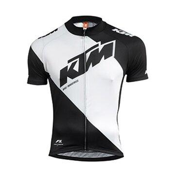 Marškinėliai KTM FL II (juoda/balta) M