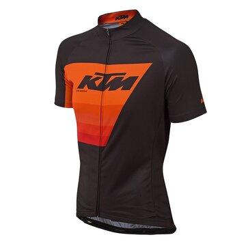 Marškinėliai KTM FL (juoda/oranžinė) XL