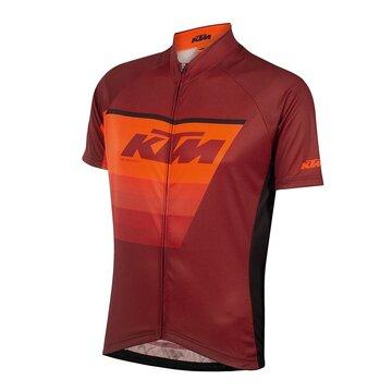 Marškinėliai KTM FL Race (juoda/oranžinė/raudona) L