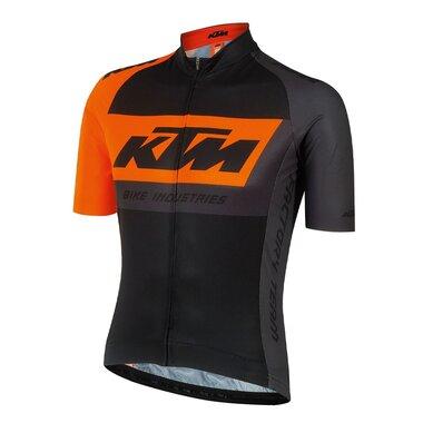 Marškinėliai KTM FT Race (juoda/oranžinė) M