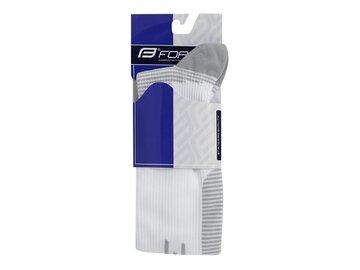 Kojinės FORCE Athletic Pro kompresinės (baltos) dydis 36-41