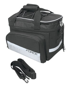 Krepšys FORCE LARGE ant bagaž 20litrų juodas