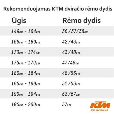 """KTM Ultra Fun 27,5"""" dydis 15"""" (38cm) 18G (juoda/pilka)"""