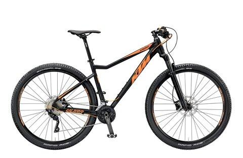 """KTM Ultra Sport 29"""" dydis 19"""" (48cm) (juoda/oranžinė, matinis) 020144108"""