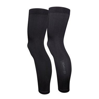 Kojų pašiltinimai FORCE Breeze (juoda) XS-S